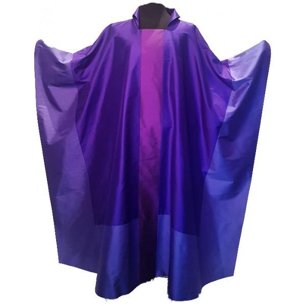 Messgewand - violett aus Seide