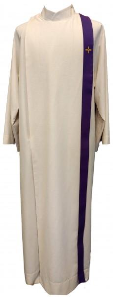 Beleg in liturgischer Farbe - violett