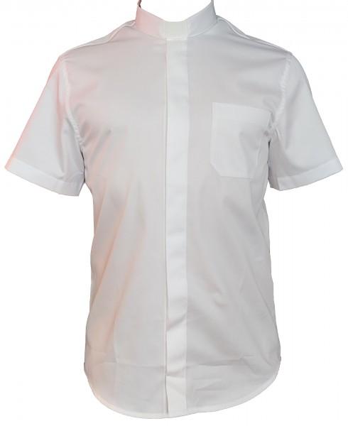 slim-fit-collarhemd-weiss-kurzarm