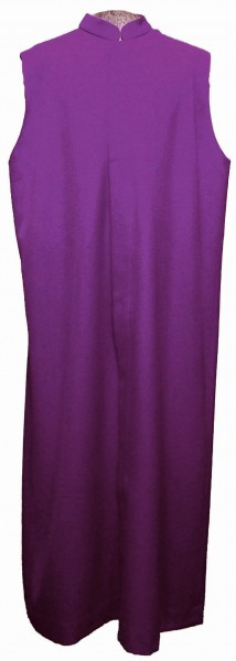 violetter Ministrantentalar - kleine Falte, Woll/Trevira