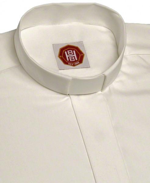 weißes, langärmeliges Collarhemd - Deutsches Fabrikat