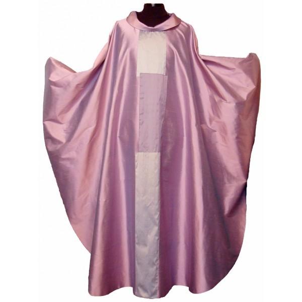 rosafarbenes Messgewand mit 3-teiligem Mittelstab