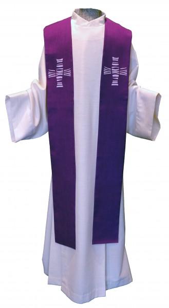 moderne violette Stola