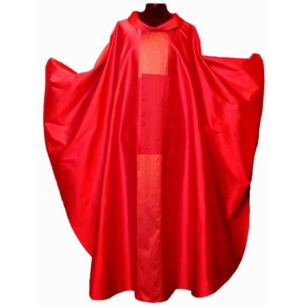 Messgewand - rot mit 3-teiligem Mittelstab